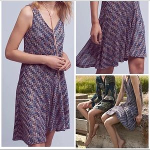 Anthropologie Maeve Westwater Knit Dress G23